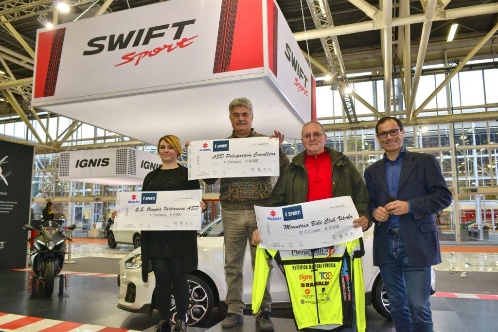 I vincitori della Federazione del Ciclismo (FCI)